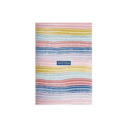 Happy Stripes Notebook