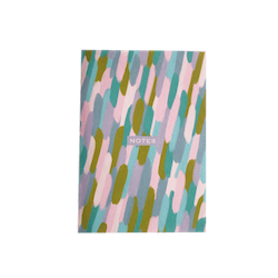 Pretty Brush Strokes Notebook