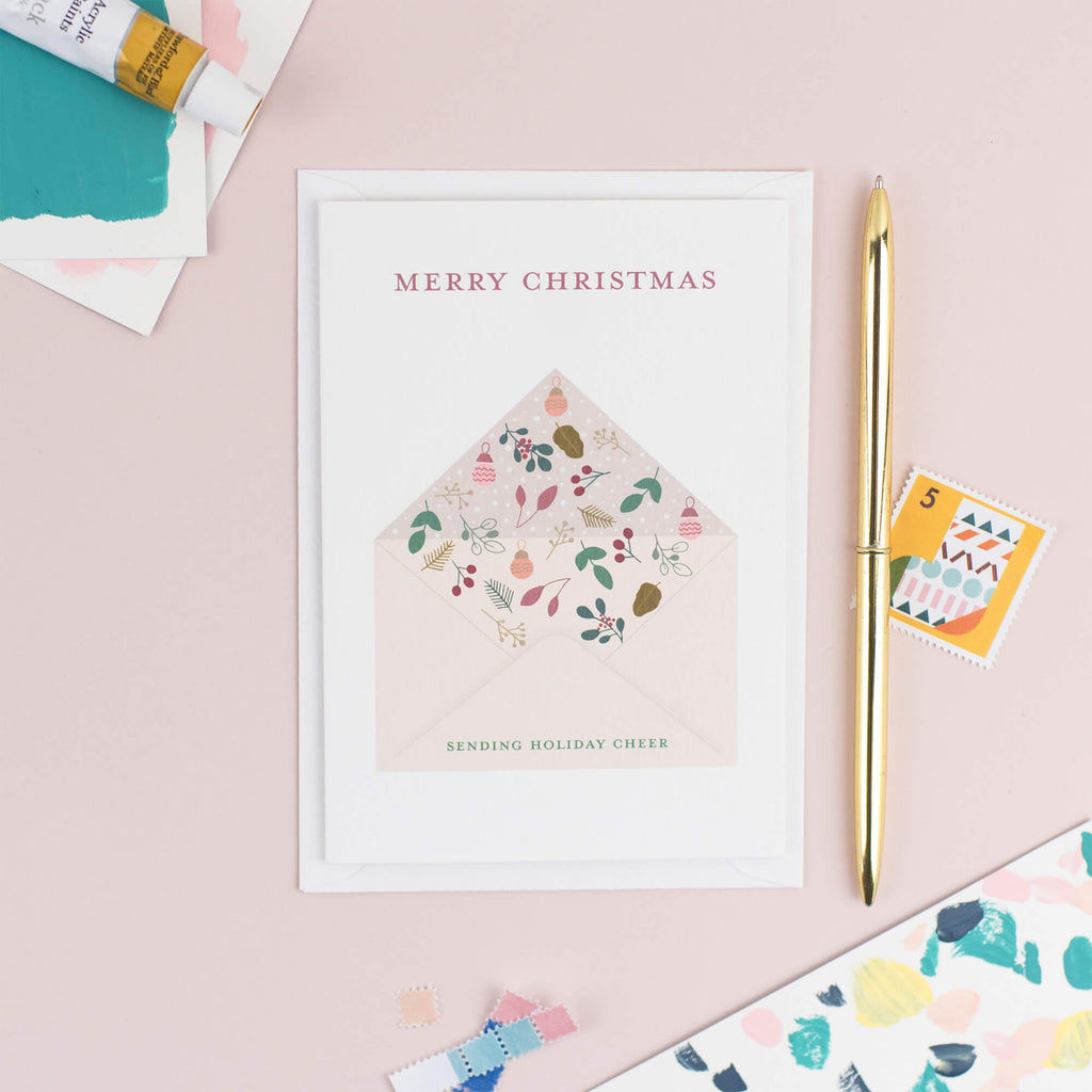 Christmas Holiday Card - The Design Palette