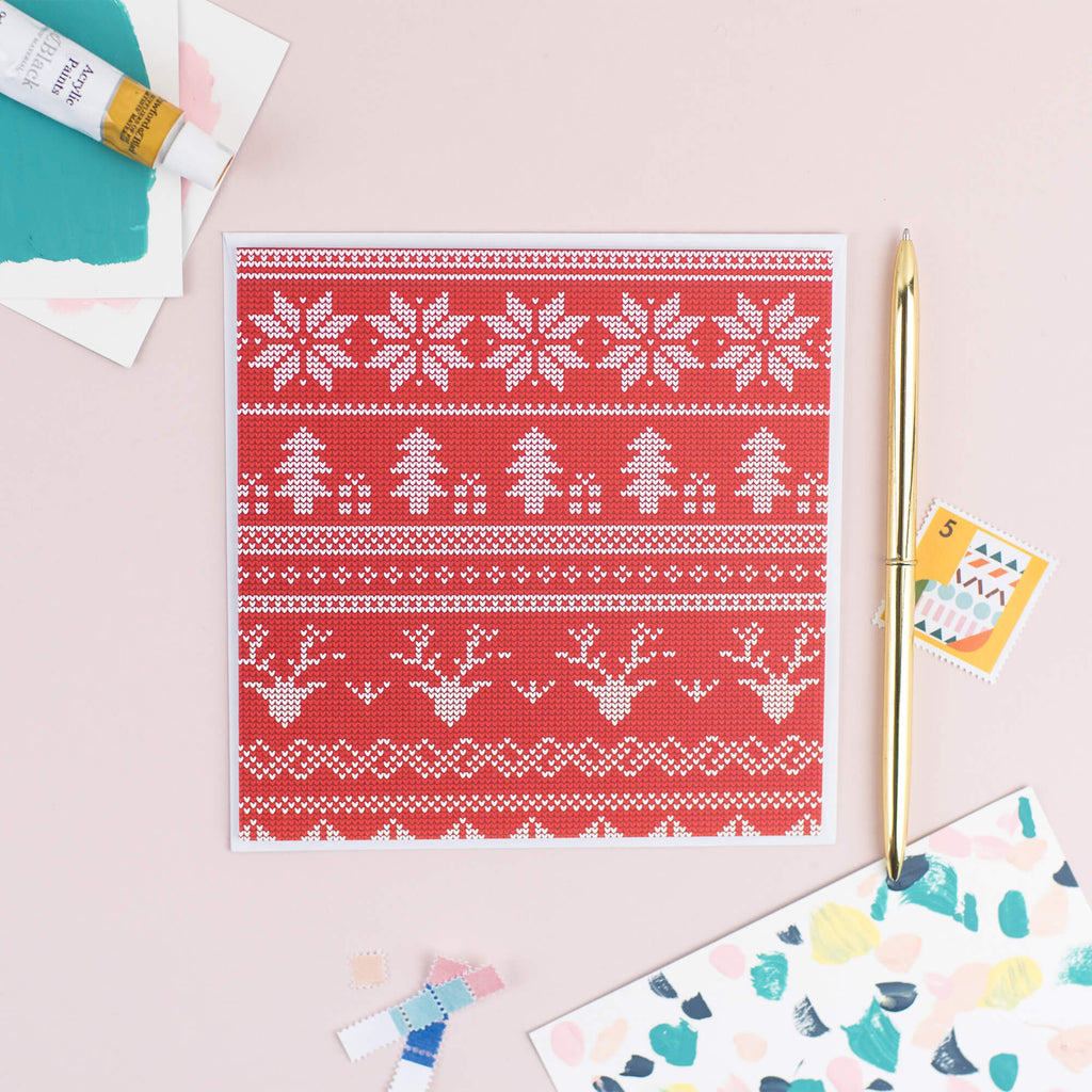 Christmas Jumper Card - The Design Palette