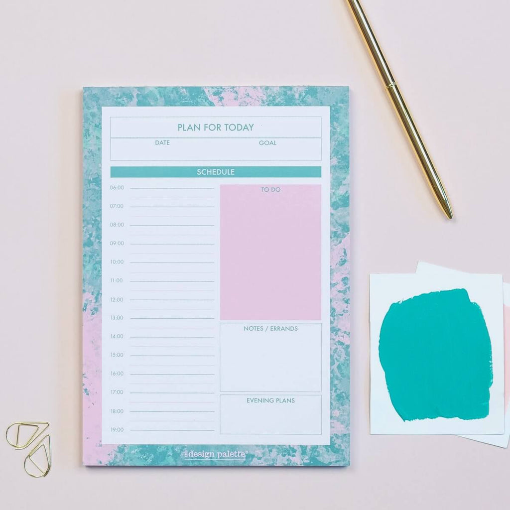 Desk Daily Planner Pad