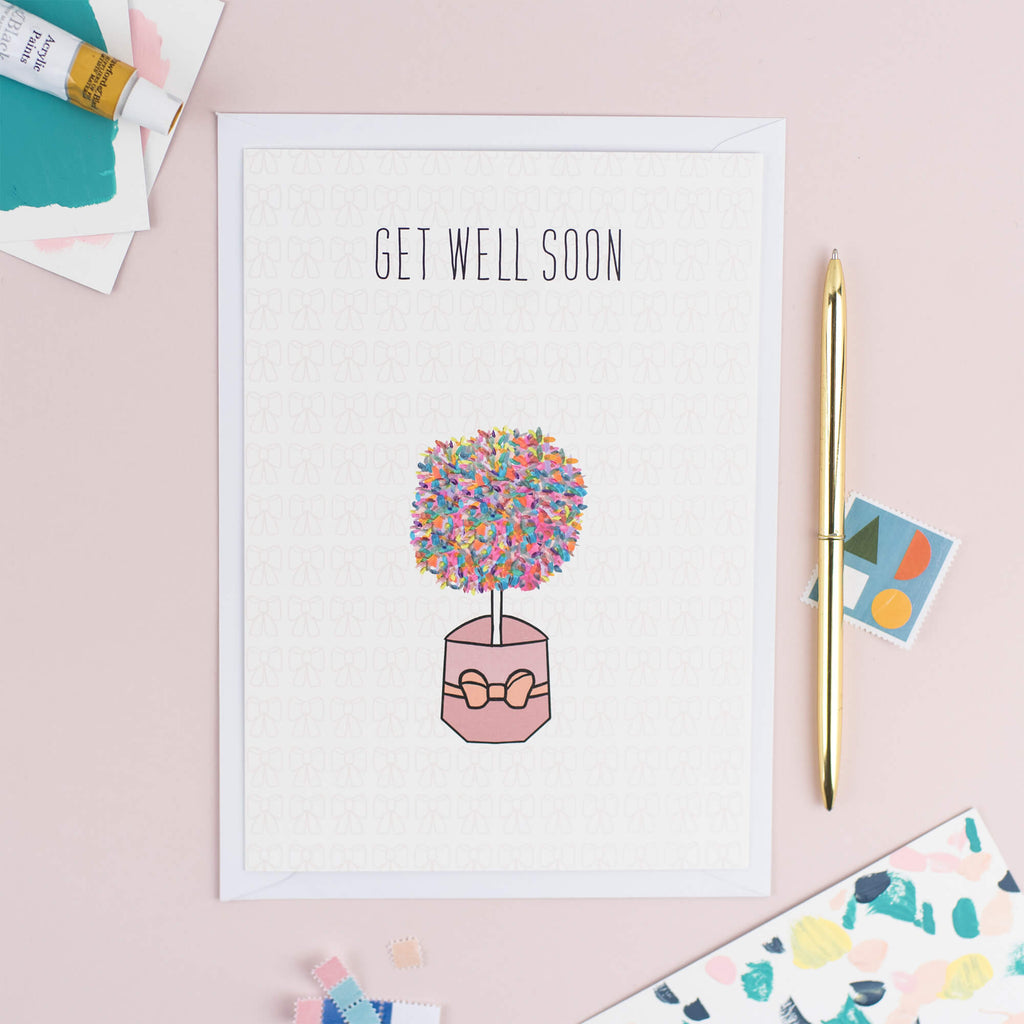 Sympathy Get Well Soon Card - The Design Palette