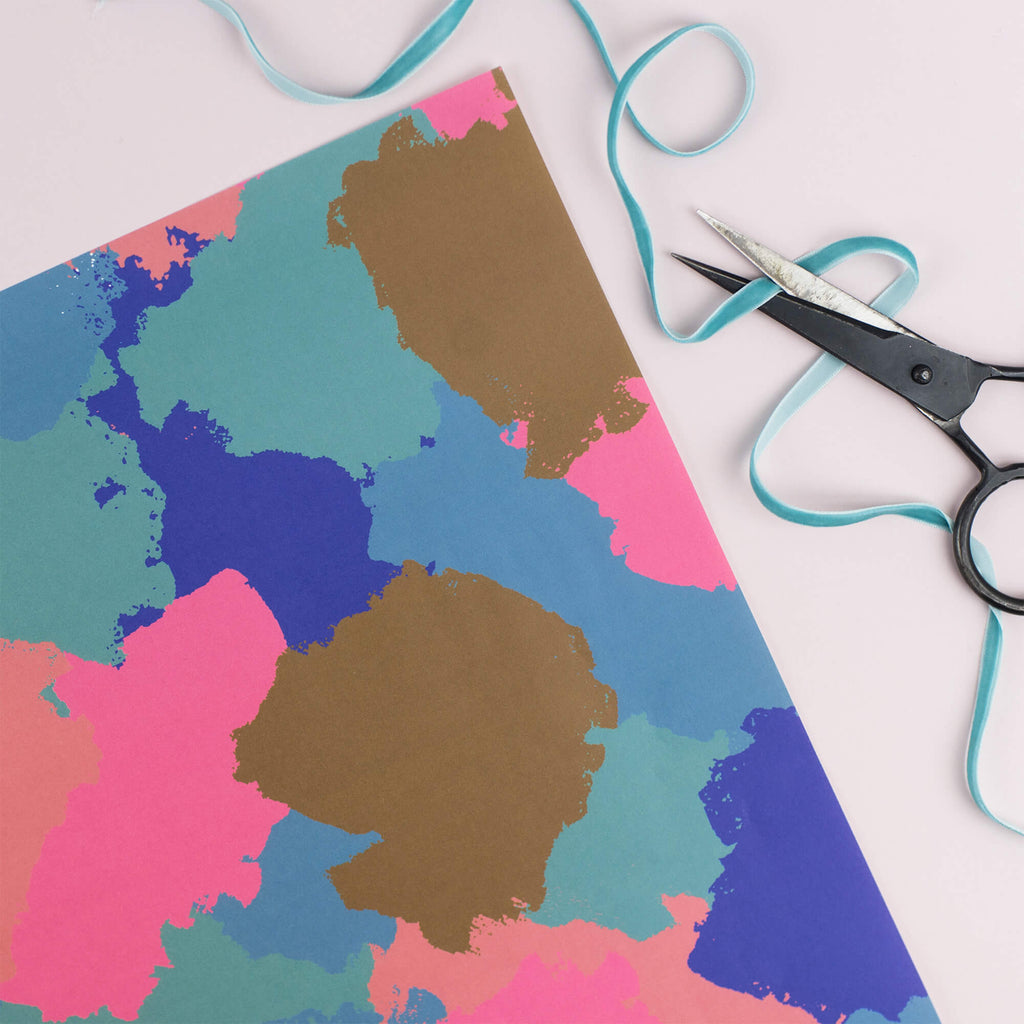 Colour Splash Gift Wrap Set - The Design Palette