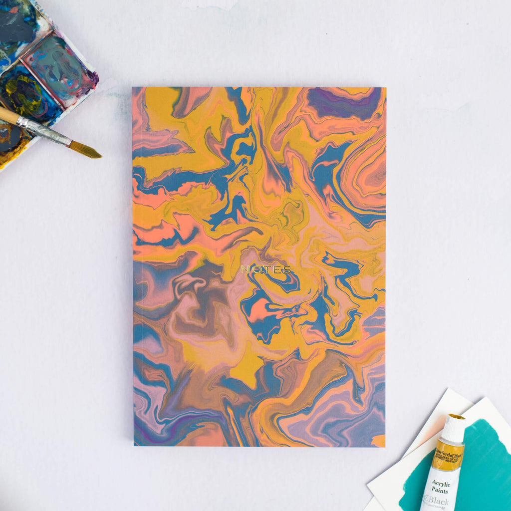 MARBLE A5 NOTEBOOK - The Design Palette