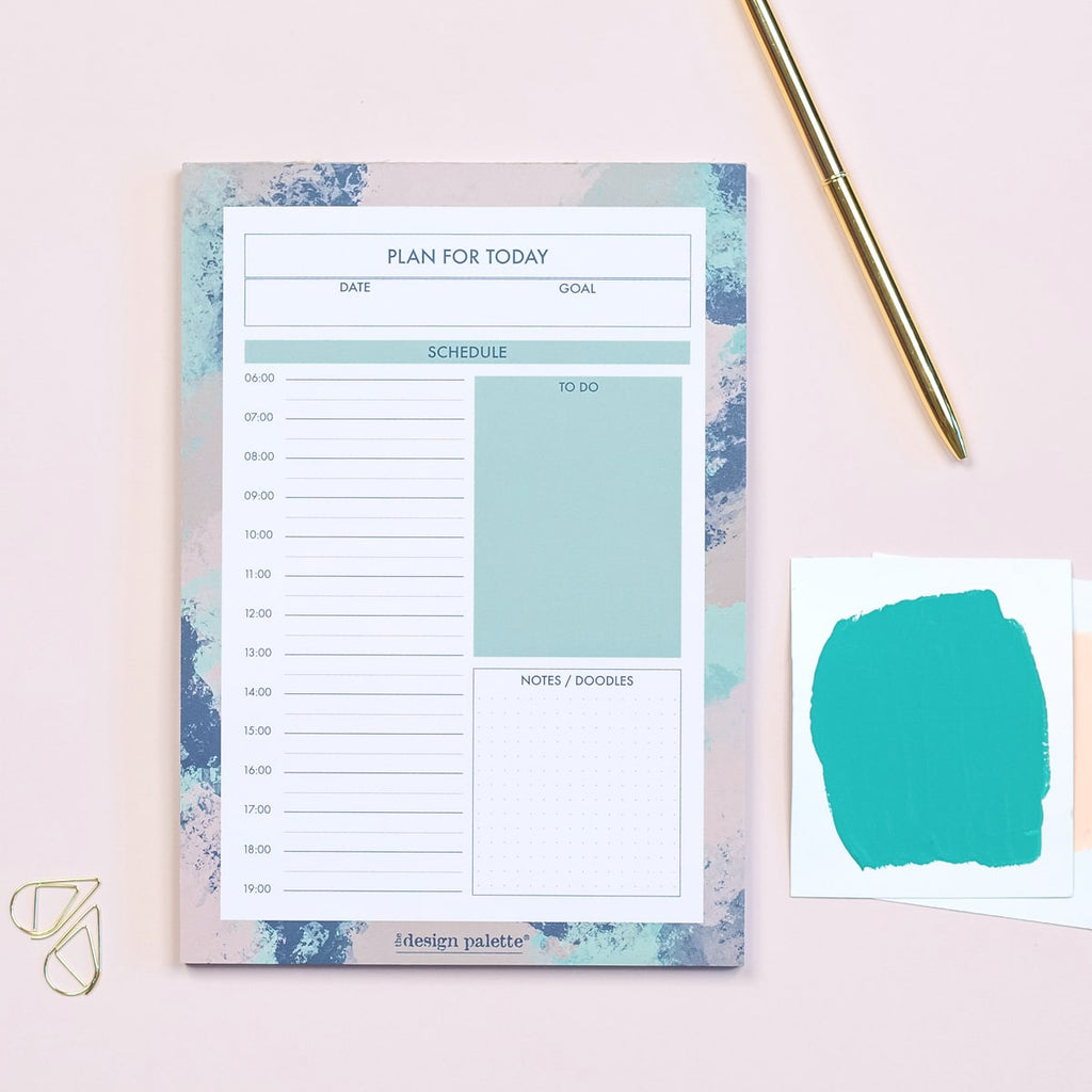 Productivity Daily Planner Pad - The Design Palette