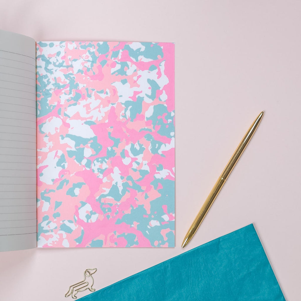 Rose Pink A5 Notebook - The Design Palette