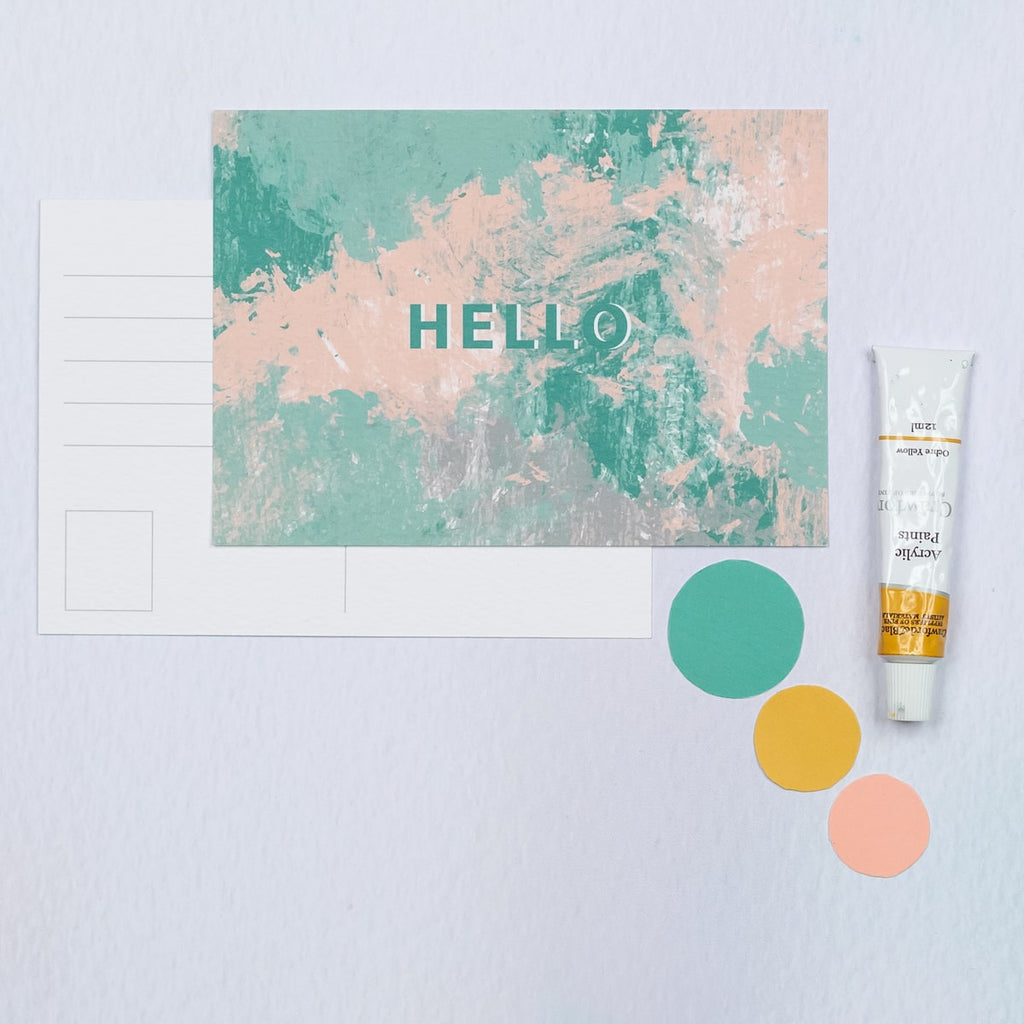 Hello Postcard - The Design Palette