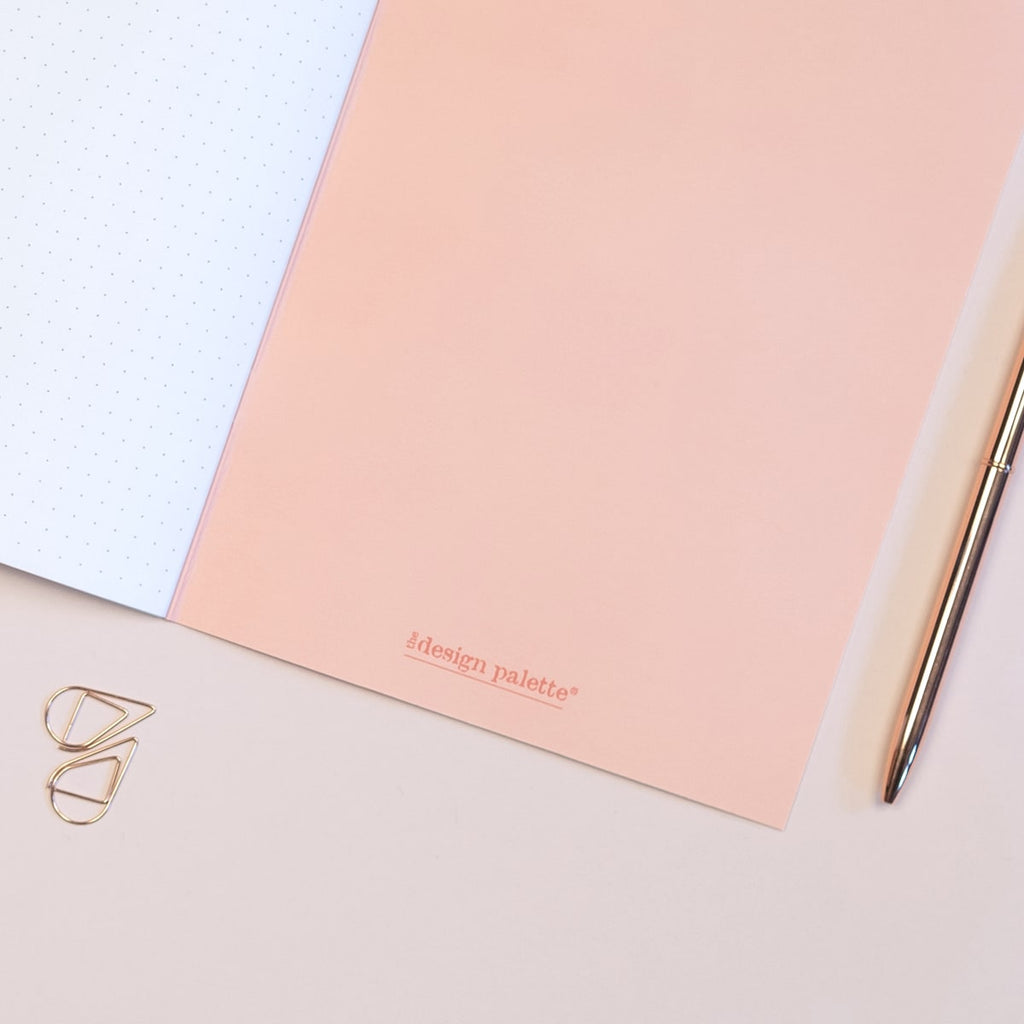 Geometric Duo Dotted A5 Notebook - The Design Palette
