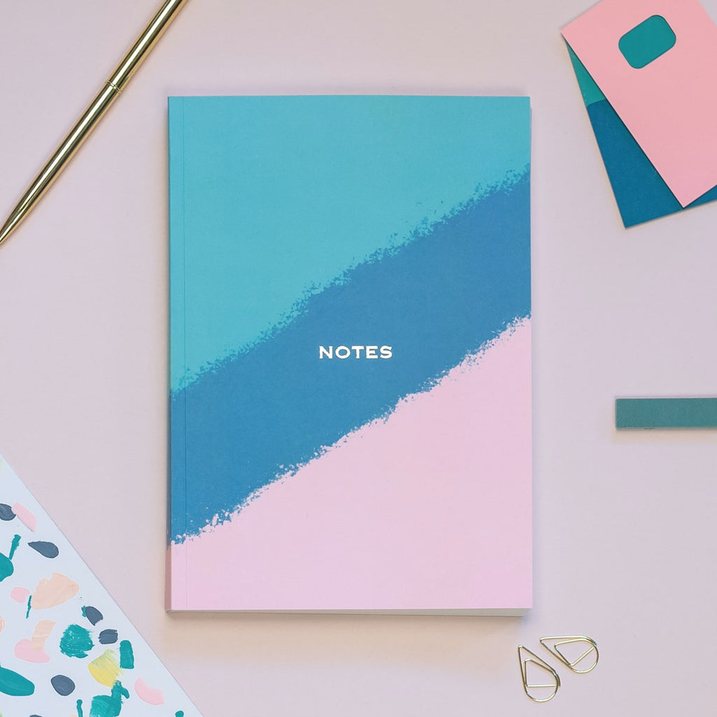Stripe A5 Notebook - The Design Palette