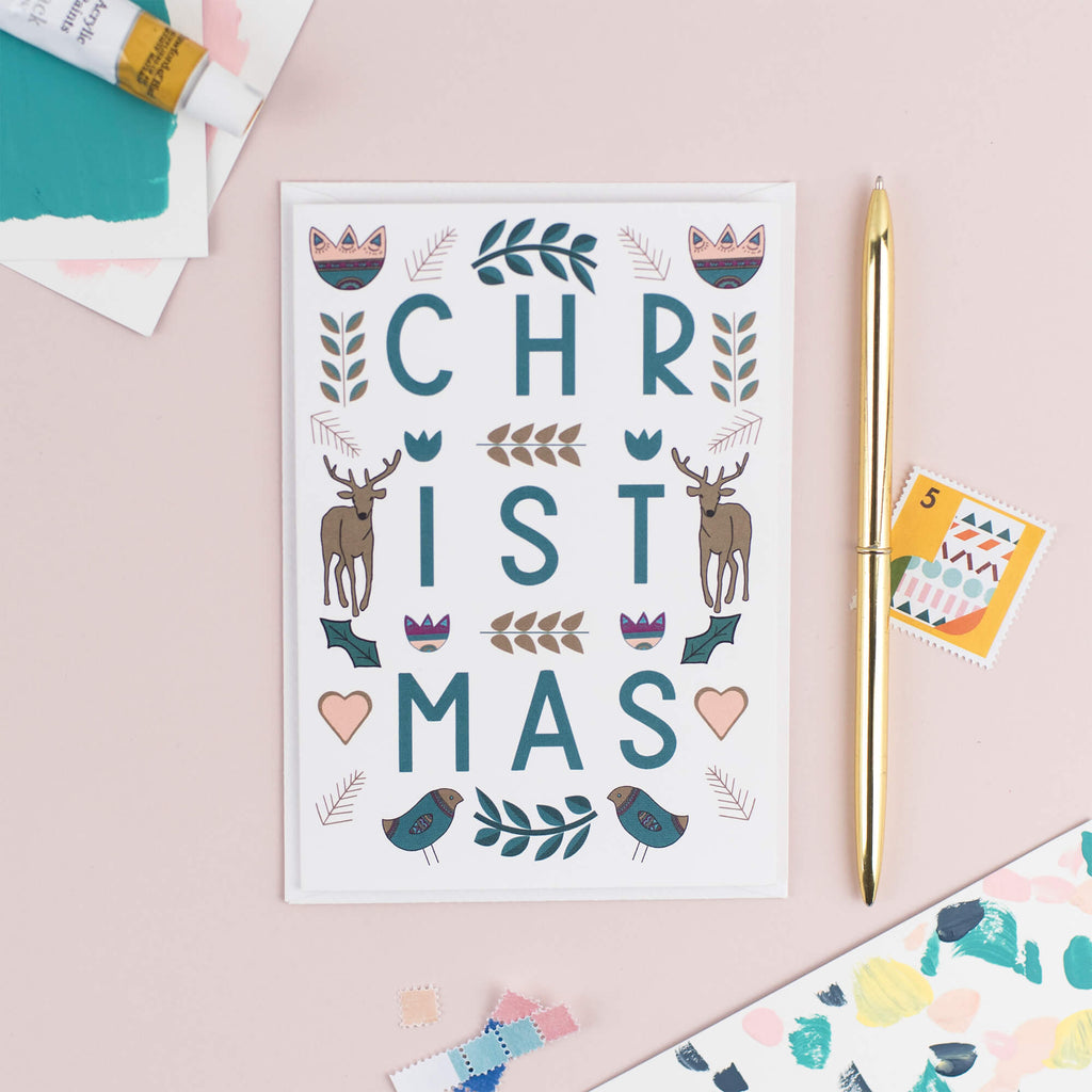 Scandinavian Christmas Card - The Design Palette