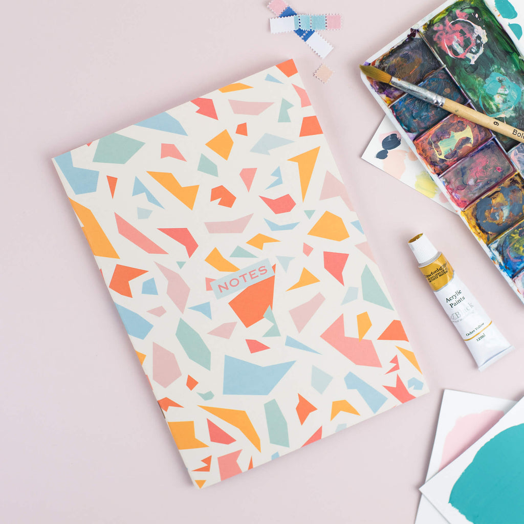 Terrazzo Dotted A5 Notebook - The Design Palette