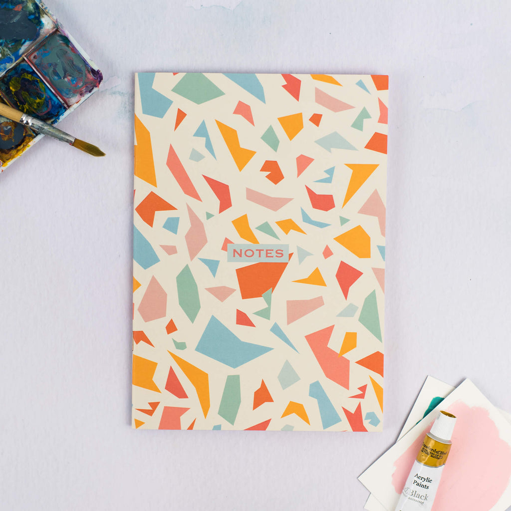 Terrazzo Plain A5 Notebook - The Design Palette