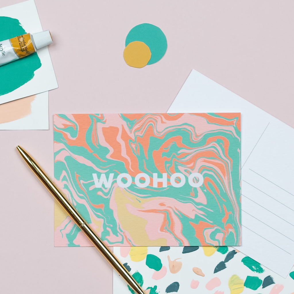 Wohoo Postcard - The Design Palette