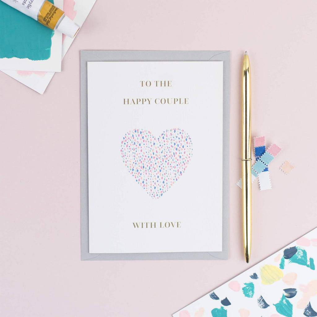 Wedding Confetti Card - The Design Palette