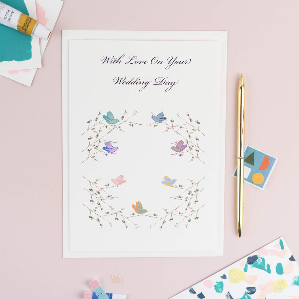 Woodland Wedding Card - The Design Palette