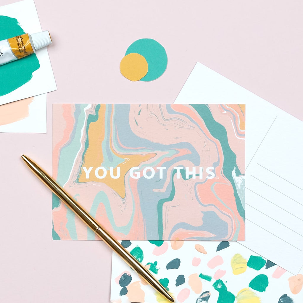 You Got This Postcard - The Design Palette