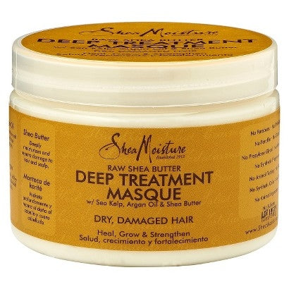 Shea Moisture - Raw Shea Butter Deep Treatment Masque (Soin profond)