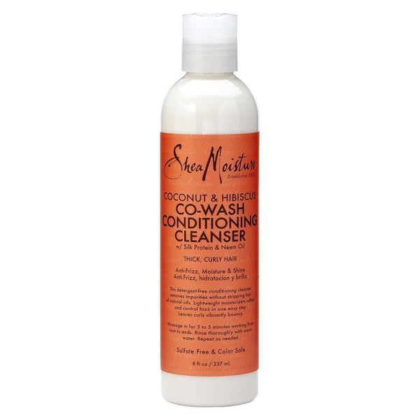 Shea Moisture - Coconut Hibiscus Co-Wash Conditioning Cleanser (Après-shampoing lavant) - 236ml