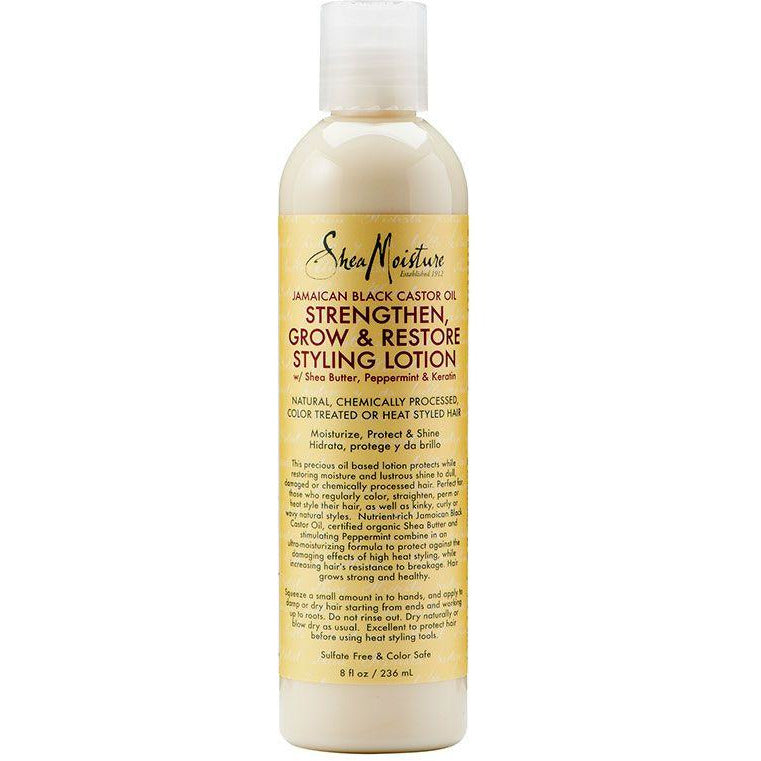 Shea Moisture - Jamaican Black Castor Oil Styling Lotion (Soin coiffant)