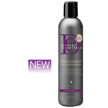 Design Essentials - Kukui & Coconut Hydrating Leave-In Conditioner (Après-shampoing avec ou sans rinçage)