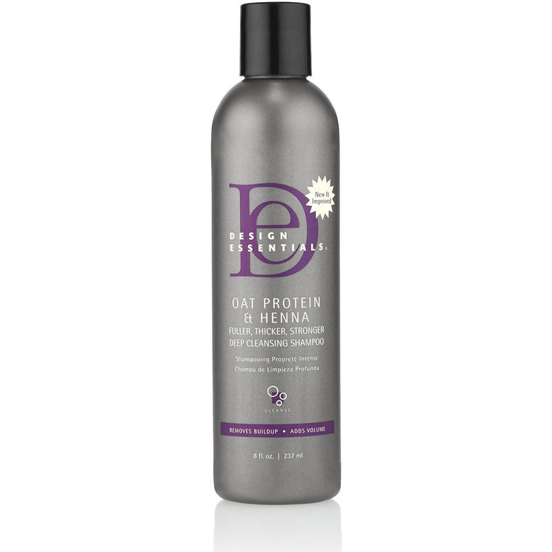 Design Essentials - Oat Protein & Henna Deep Cleansing Shampoo (Shampoing protéiné)
