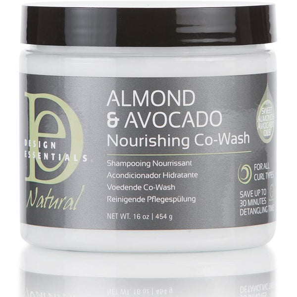 Design Essentials - Almond & Avocado - Nourishing Co-Wash (Après-shampoing lavant)