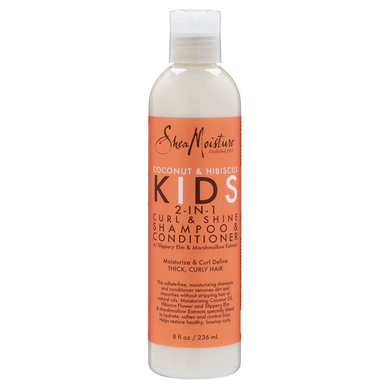 Shea Moisture Kids - 2 in 1 Curl & Shine (Shampoing et conditioner 2 en 1)