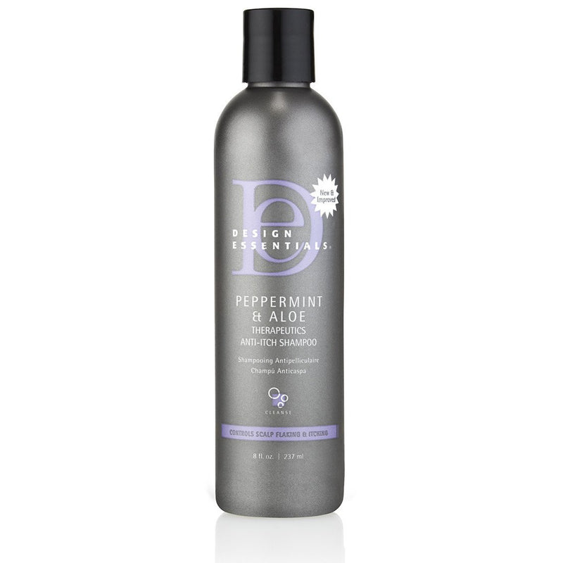 Design Essentials - Peppermint & Aloe Therapeutics Anti-Itch Shampoo (Shampoing anti-pelliculaire)