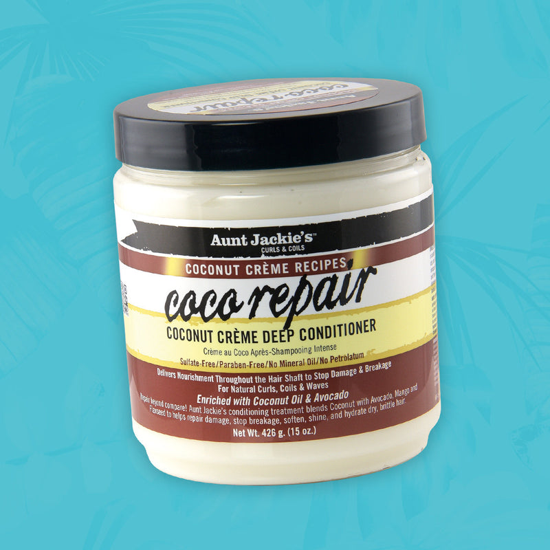 Aunt Jackie's - Coconut - Coco Repair Deep Conditioner (Masque réparateur)