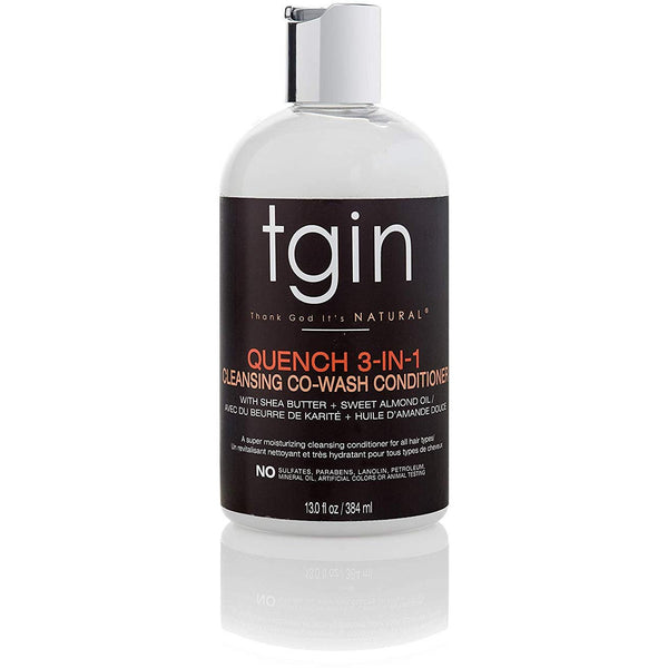TGIN - Quench 3-In-1 Co-Wash (Cowash hydratant & démêlant)