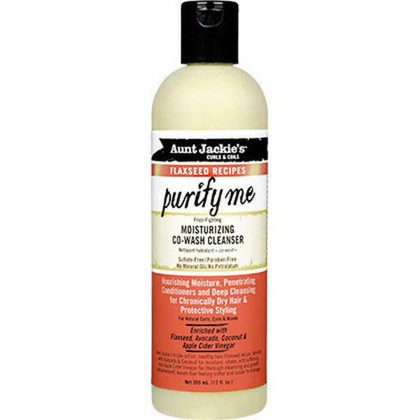 Aunt Jackie's - Flaxseed - Purify Me Co-Wash (Après-shampoing lavant)