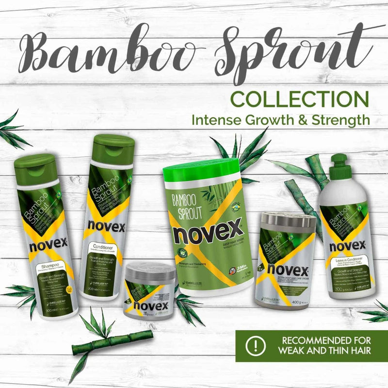 Novex - Bamboo Sprout Hair Mask (Masque protéiné)