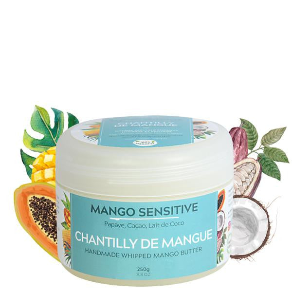 Mango Butterfull - Mango Sensitive - Chantilly de Mangue Artisanale