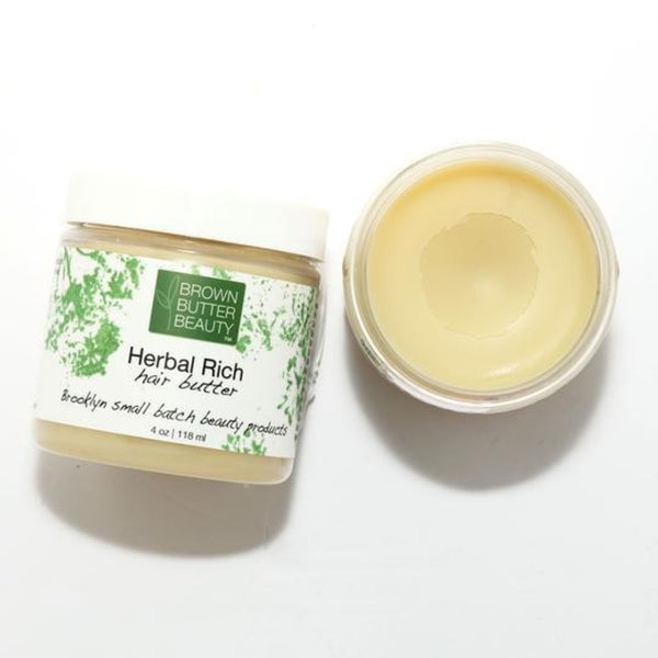 Brown Butter Beauty - Herbal Rich Hair Butter (Beurre hydratant)