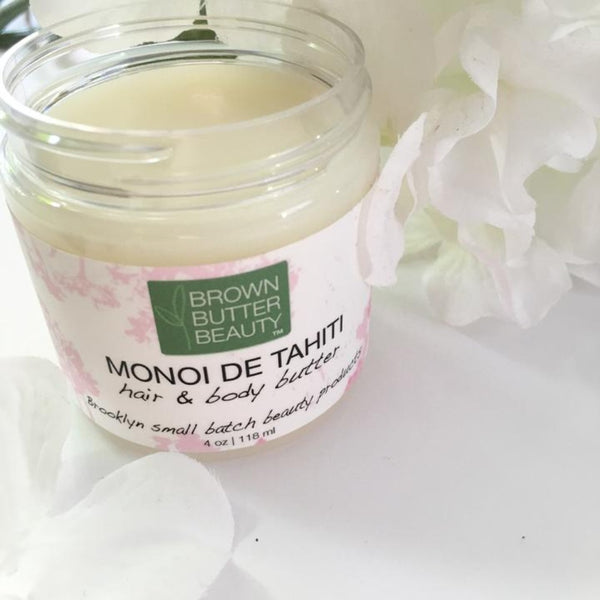 Brown Butter Beauty - Monoi de Tahiti (Beurre cheveux et corps)