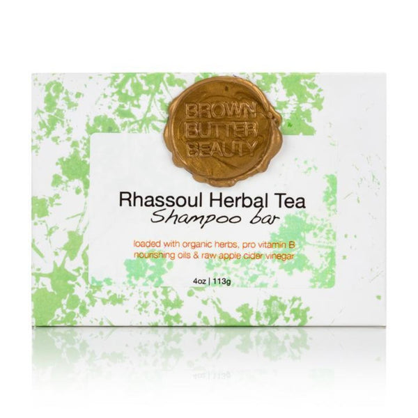 Brown Butter Beauty - Rhassoul Herbal Solid Shampoo (Shampoing clarifiant)