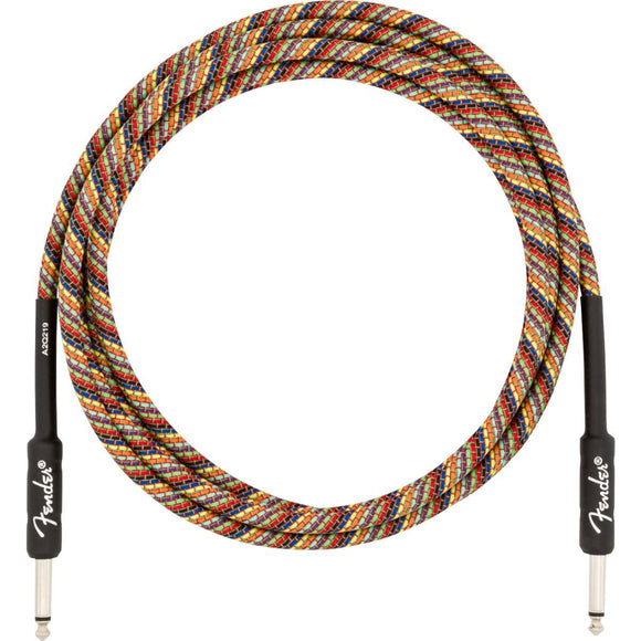 Fender Angled Festival Instrument Cable, Pure Hemp