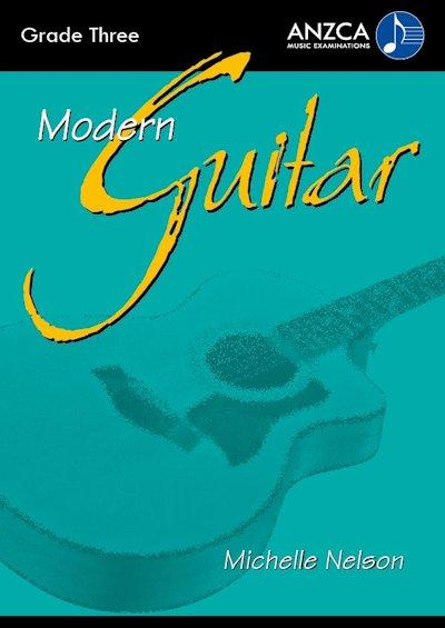 ANZCA Modern Guitar - Grade 3 (with CD)