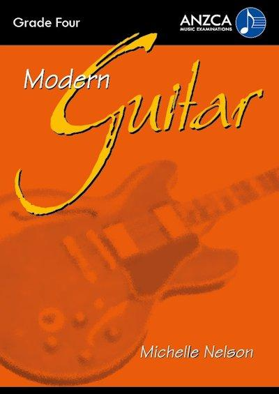 ANZCA Modern Guitar - Grade 4 (with CD)