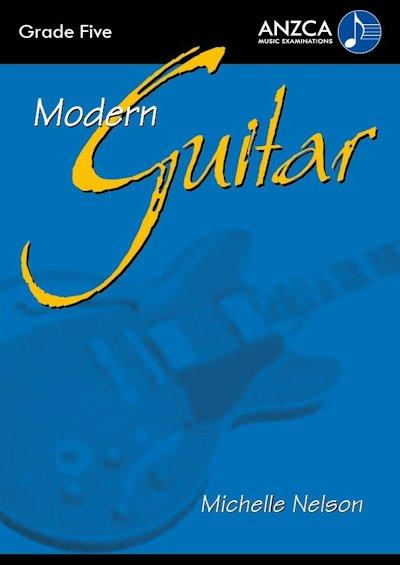 ANZCA Modern Guitar - Grade 5 (with CD)