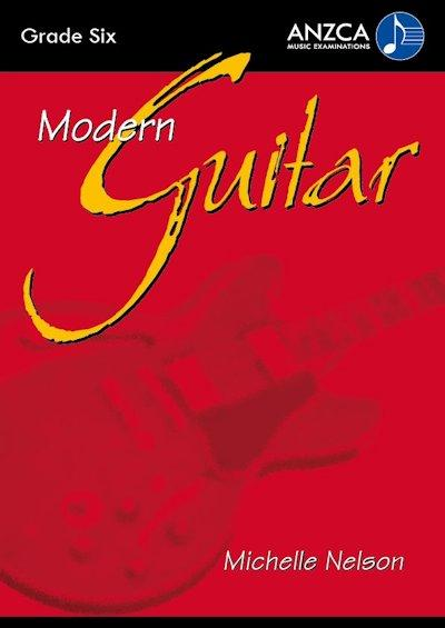 ANZCA Modern Guitar - Grade 6 (with CD)