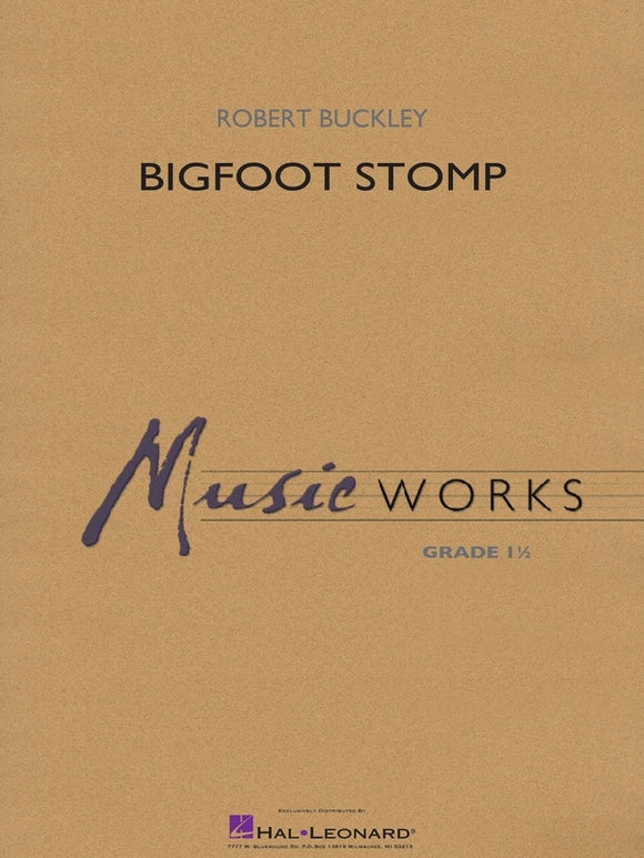 Bigfoot Stomp - arr. Robert Buckley (Grade 1.5)