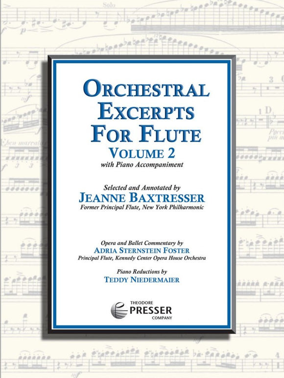 Baxtresser: Orchestral Excerpts for Flute Volume 2