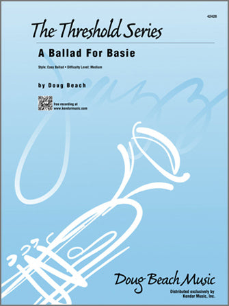 A Ballad for Basie - arr. Doug Beach (Grade 3)