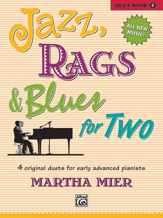 Jazz Rags & Blues for Two Book 5 (1P4H)