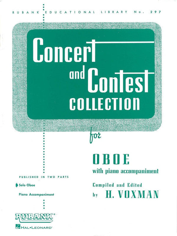 Concert and Contest Collection - Oboe