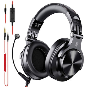 OneOdio A71 Wired Over-Ear Headphones with Mic