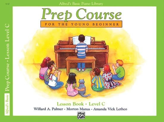 Alfred's Basic Piano Prep Course: Lesson Level C