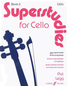 Superstudies for Cello Book 2
