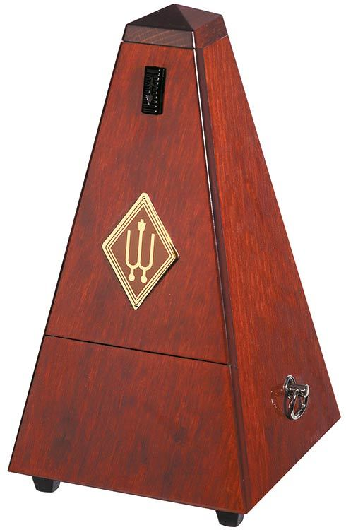 Wittner Wooden Metronome with Bell - Polished Finish